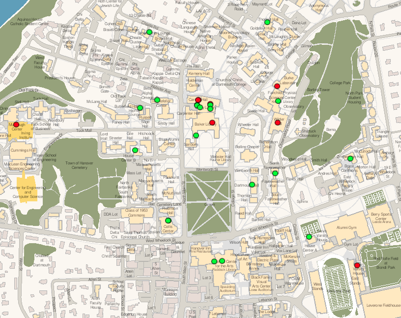 GreenPrint Map