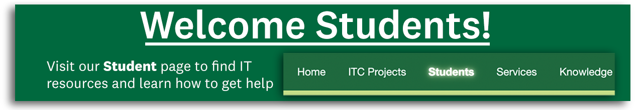 Student IT Page