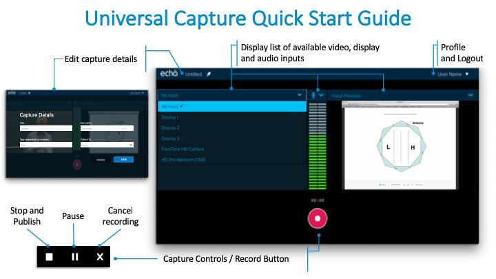 Universal Capture Quickstart Image